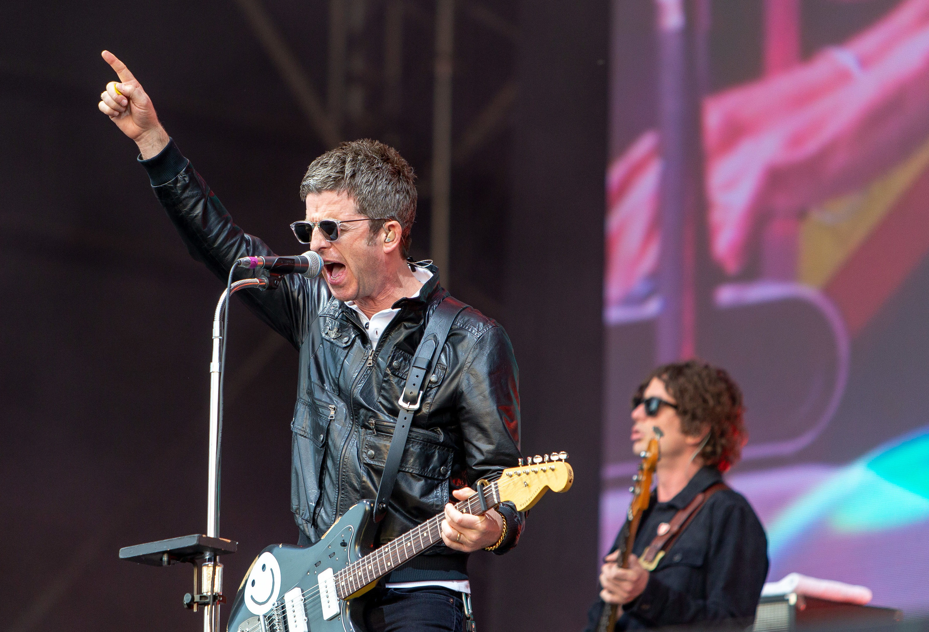 Noel Gallagher at Scone Palace in May 2018