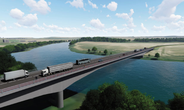How the new Cross Tay Link Road could look.
