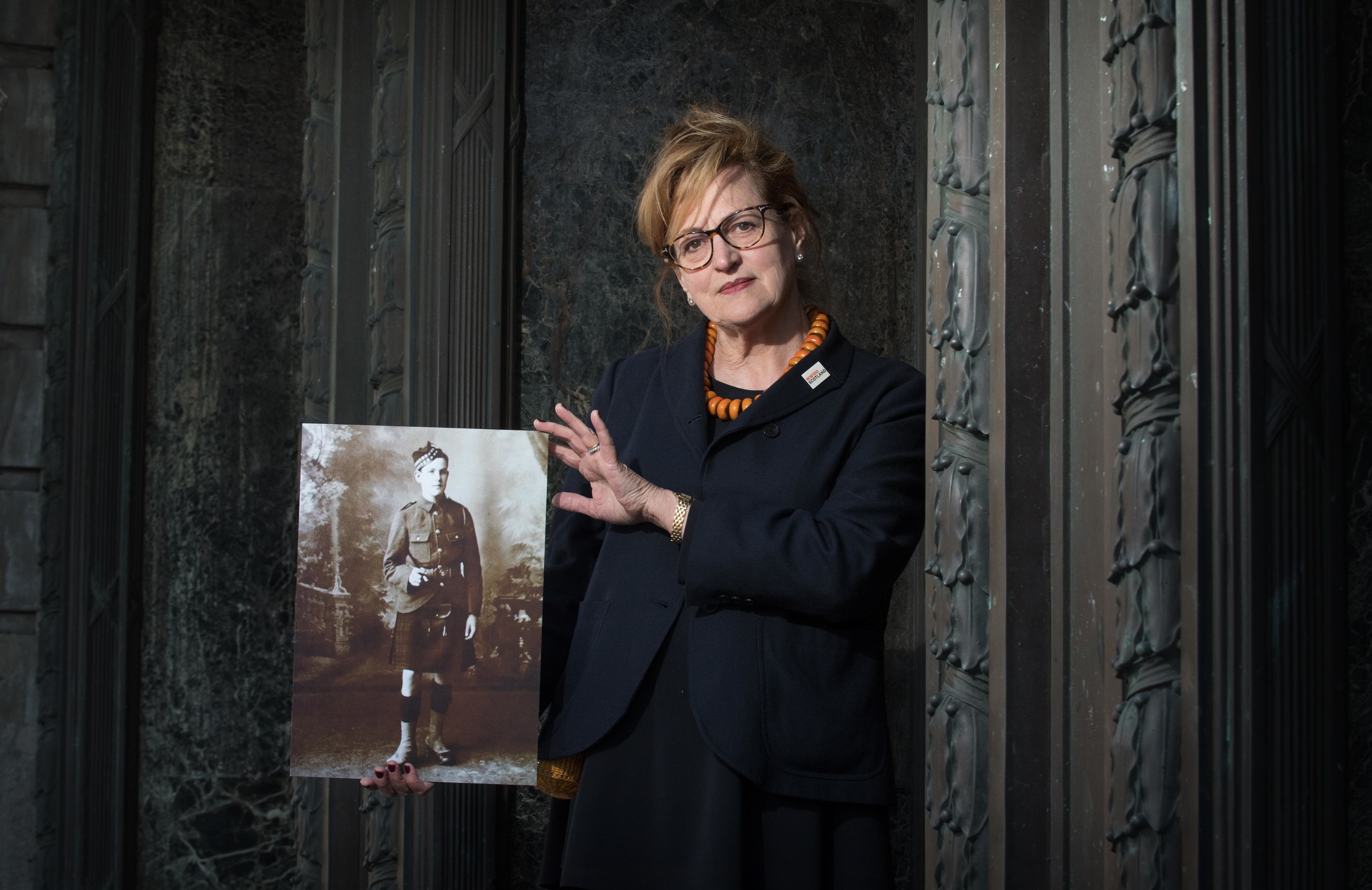 Singer Barbara Dickson takes part in the show in memory of her uncle David Dickson, who enlisted while underage and was killed in the Battle of the Somme in 1916.