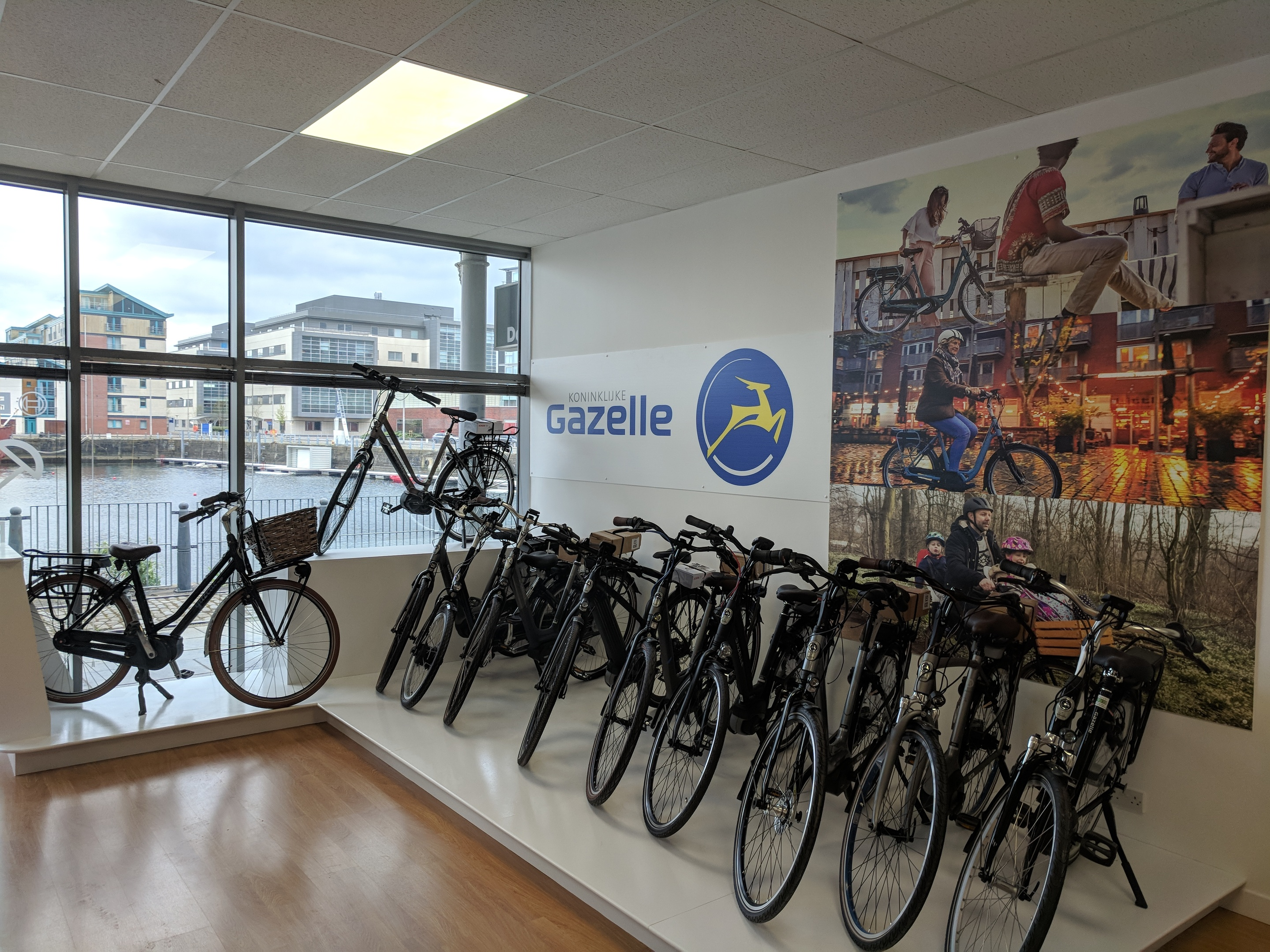 Electric Bikes Scotland's new outlet at City Quay in Dundee.