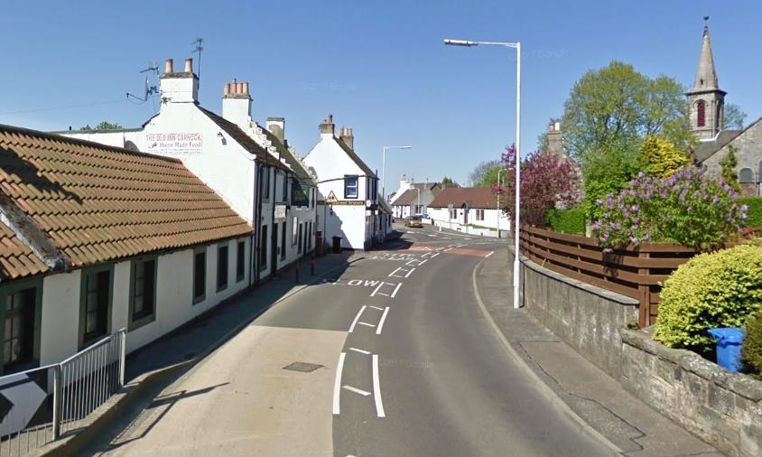 Main Street in Carnock.