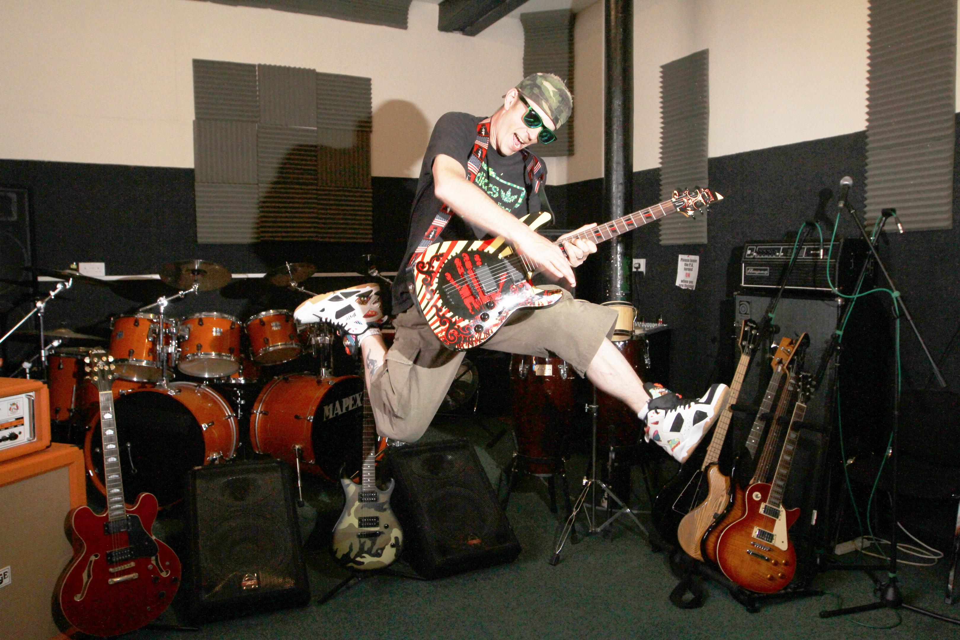 Tristan Button, owner of DM Studios.