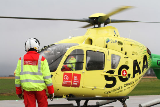 Scotland's Charity Air Ambulance.