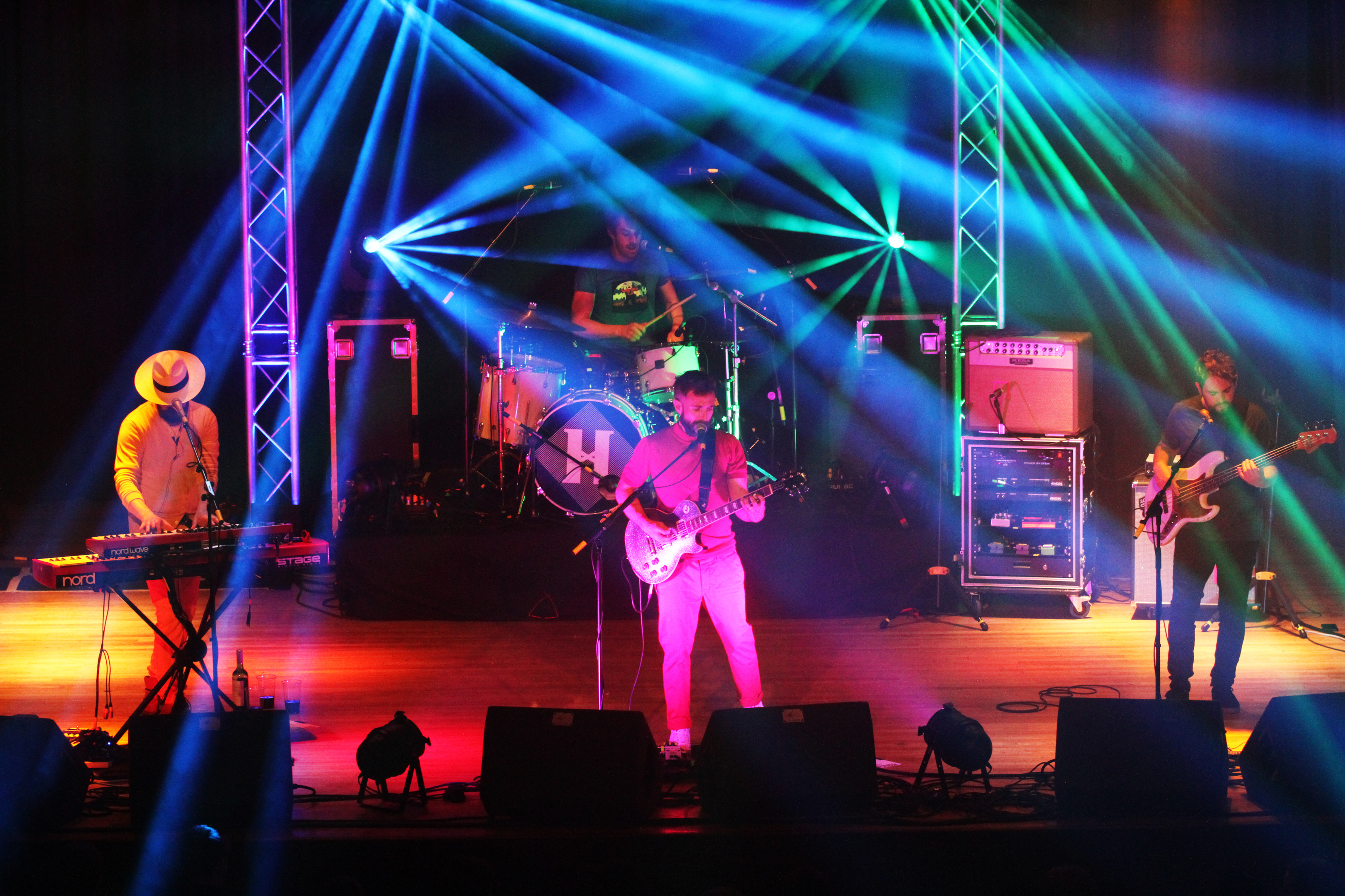 MoFest headlines The Hoosiers got this year's event going at the Town Hall