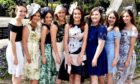 A group of women at last year's Ladies Day at Perth Racecourse.