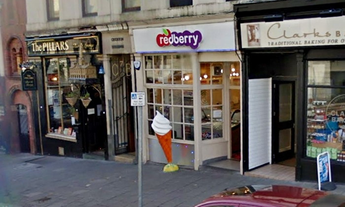 Amin and his victim clashed over the sale of The Red Berry ice cream parlour in Crichton Street.