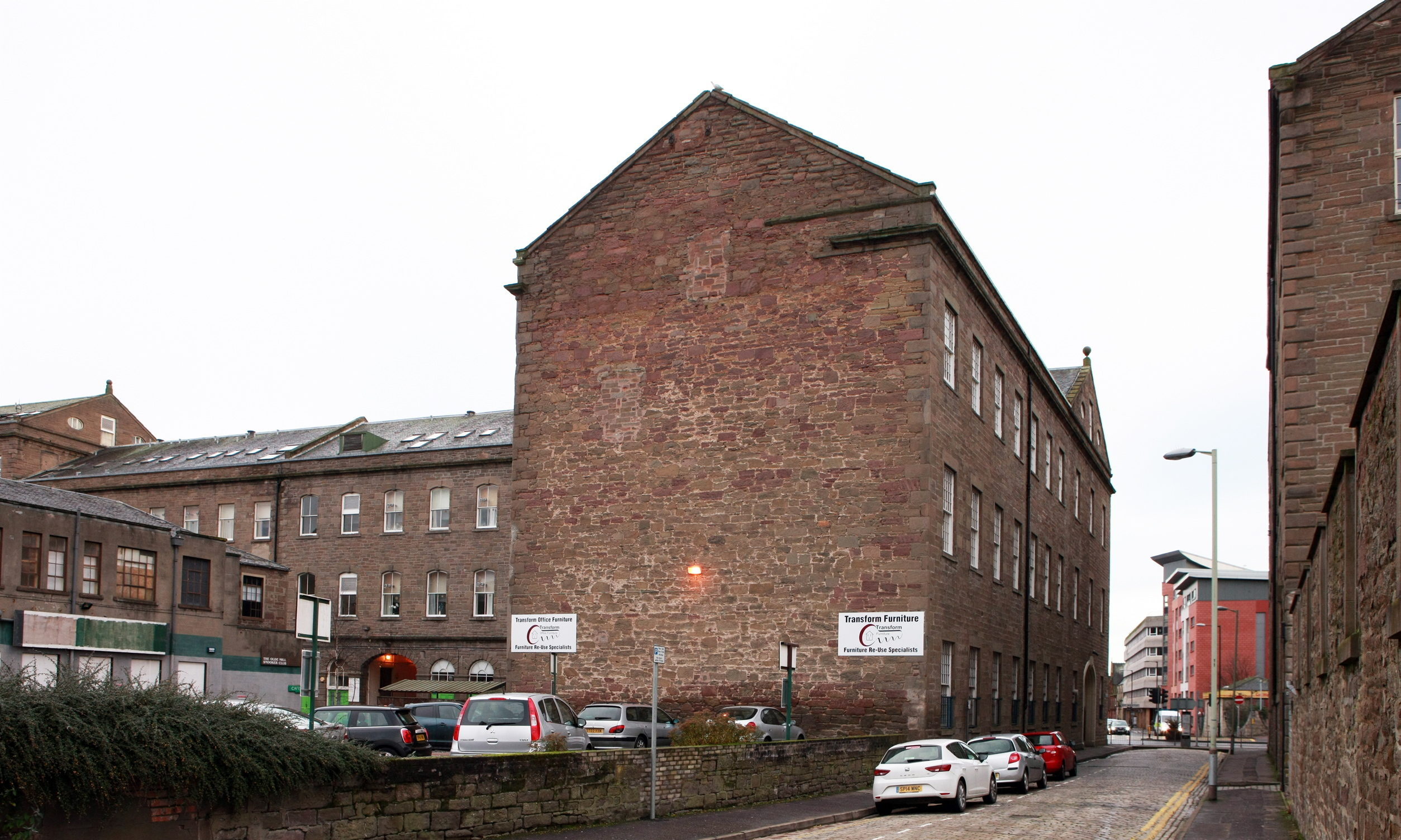 The Old Mill Complex in Dundee.