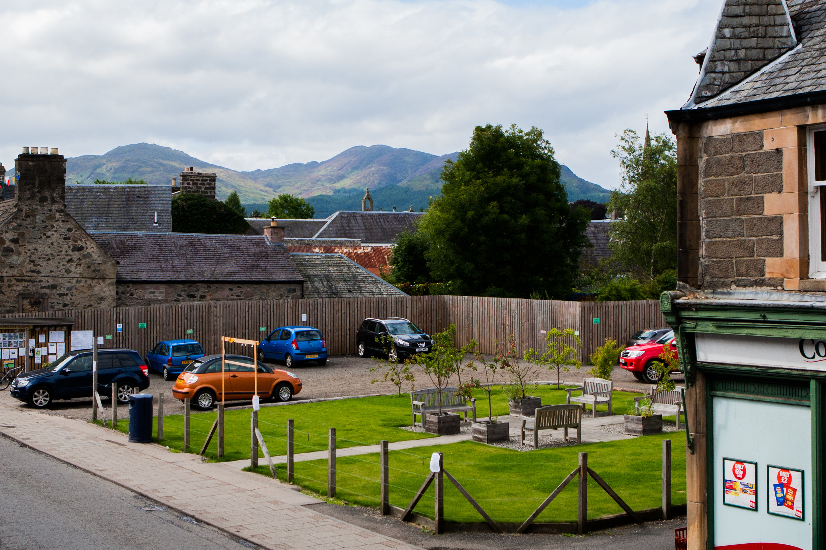 Bumblebee Square in Comrie will be improved.