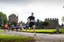 Graeme Brown from Alyth went out in front from the start and went on to win the event.