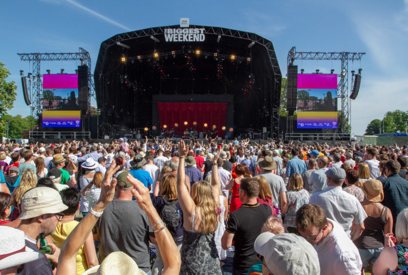 BBC's Biggest Weekend at Scone Palace in May