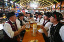 Oktoberfest in Munich, 2014.