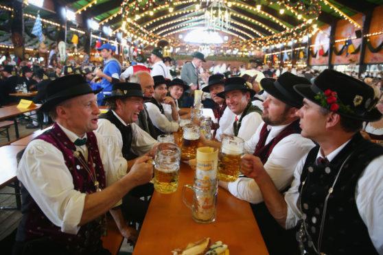 Oktoberfest in Munich, 2014.