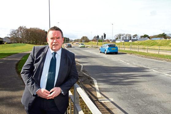 Broughty ferry councillor Phillip Scott
