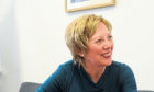 The Shadow Scottish Secretary Lesley Laird Interviewd by journalist Mike Alexander at the John Smith Bussiness Centre Kirkcaldy 8 Sept 17