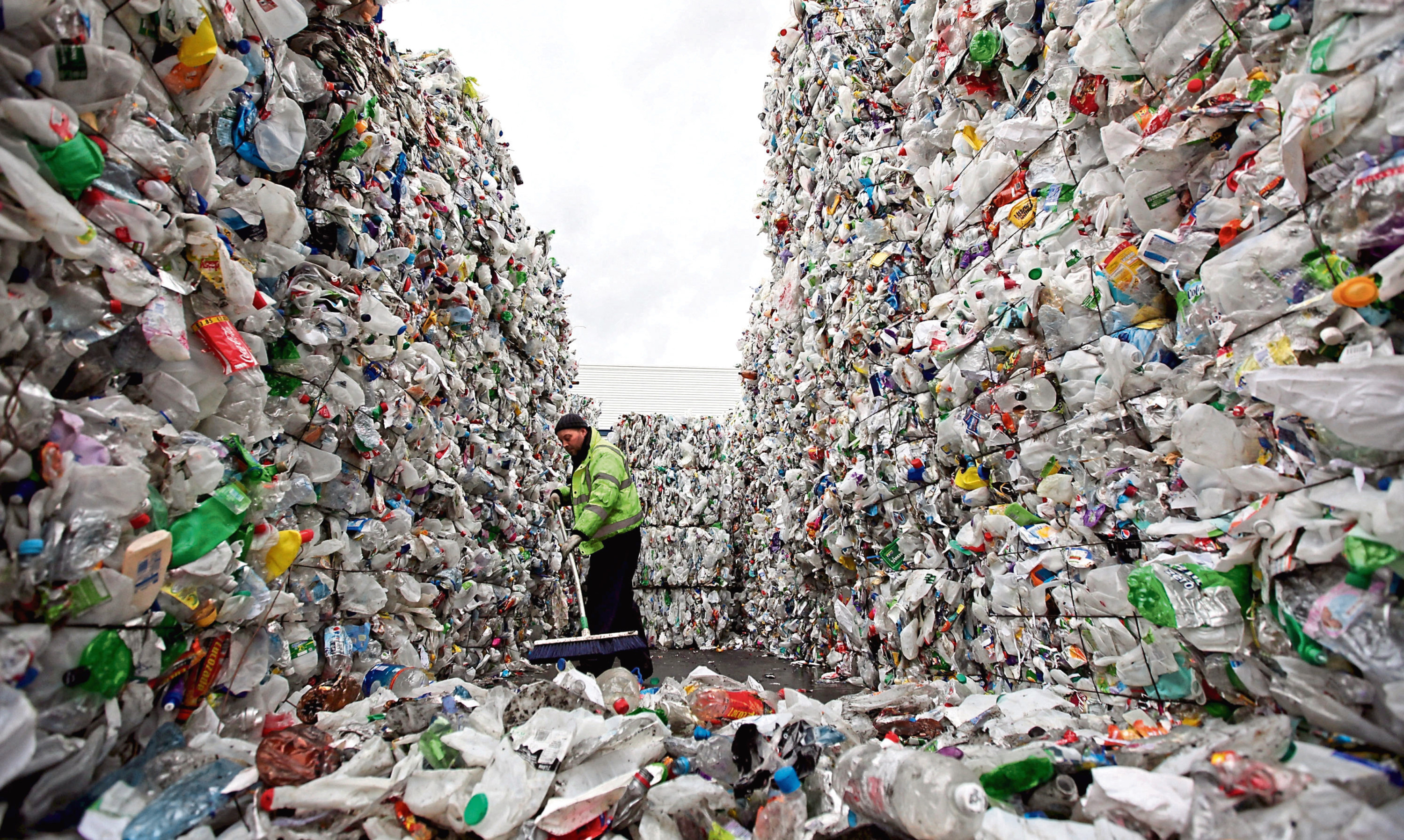 The circular economy aims to reduce waste and promoting the re-use of valuable commodities such as plastics.