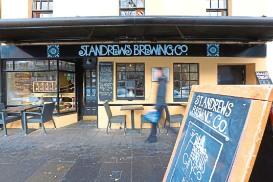 St Andrews Brewing Company's pub in South Street, St Andrews.