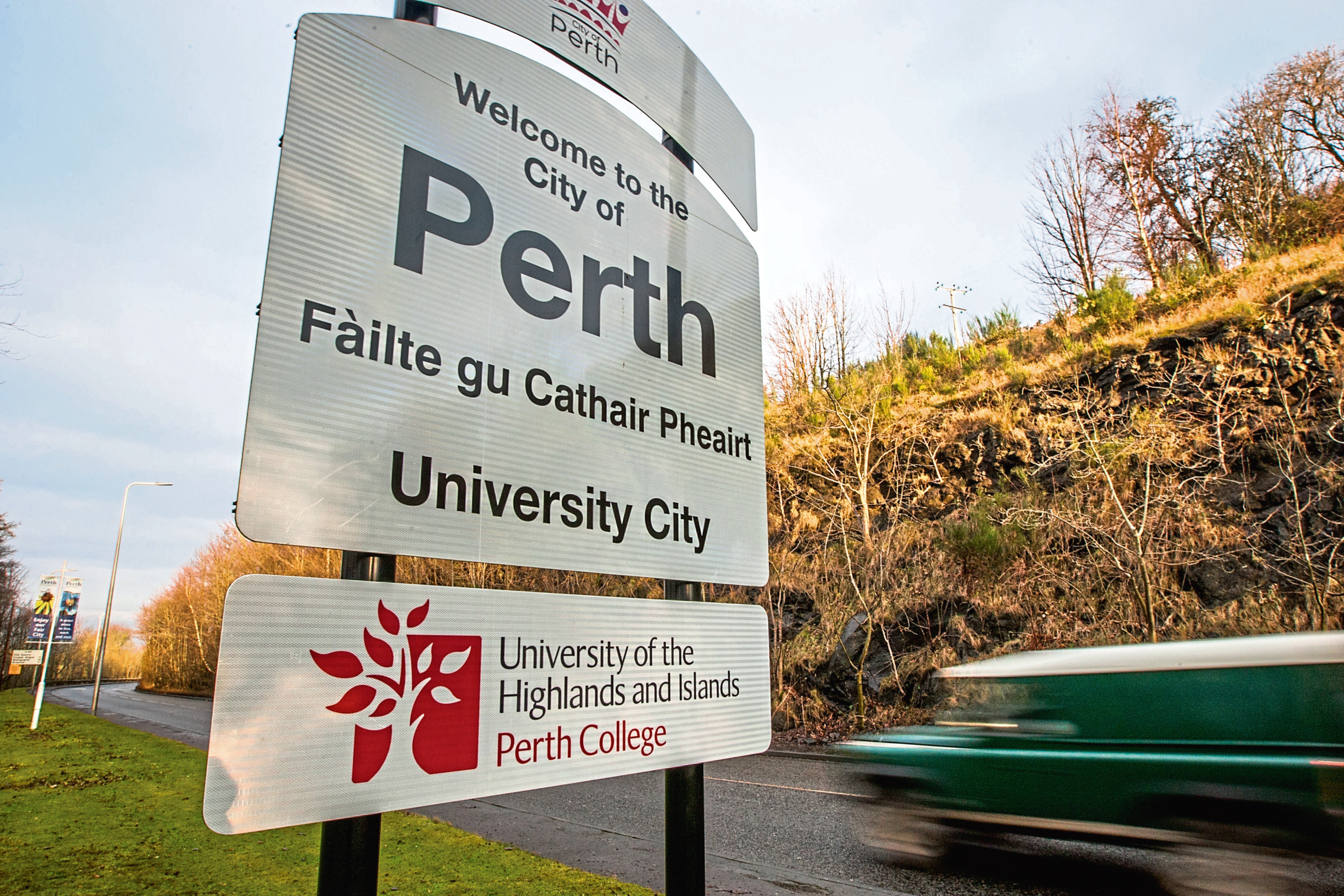 Almost two million people visit Perthshire every year.