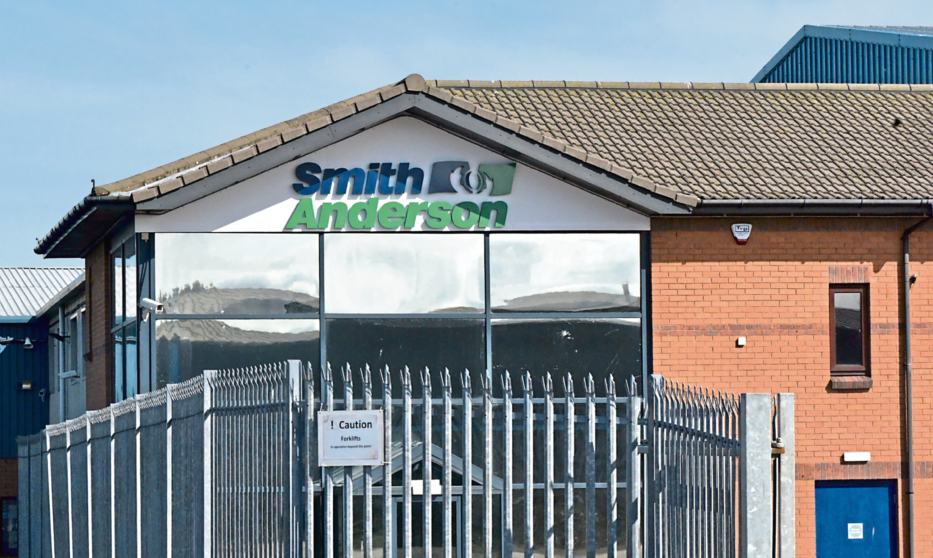Smith Anderson at Mitchelson Industrial estate kirkcaldy.