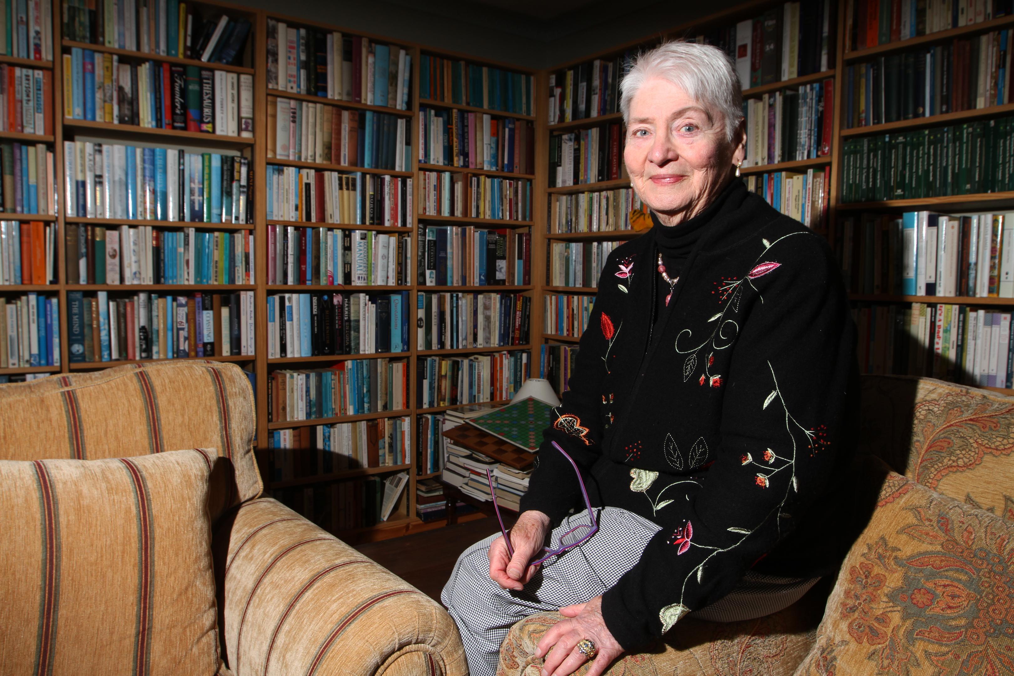 Elisabeth Hill, 80 at home.