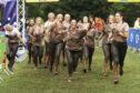 Lochie's Ladies' coming through the finish line.