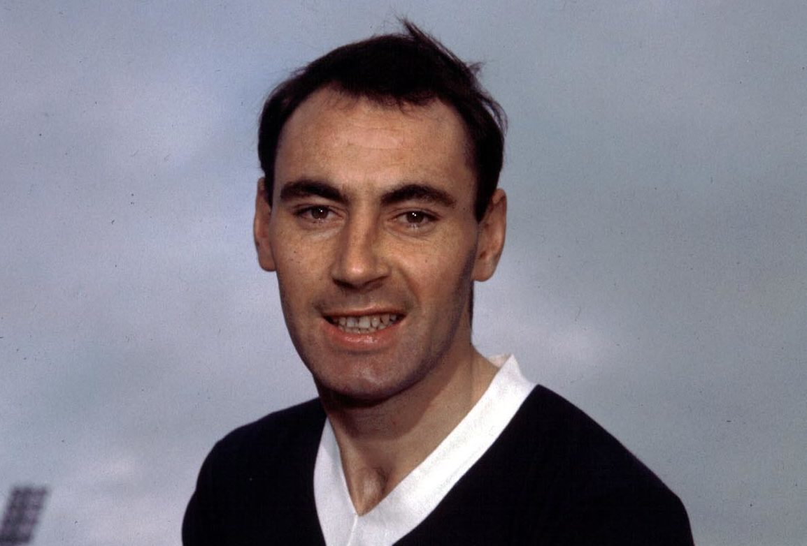 Alan Gilzean was a legend at Dens.