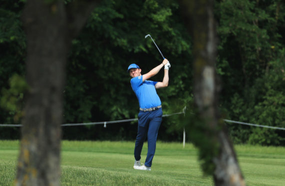 Connor Syme is in good position to retian his card after the first half of his debut season on the European Tour.