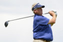 Colin Montgomerie during his first round 71 at the US Senior Open at The Broadmoor Golf Club in Colorado Springs.