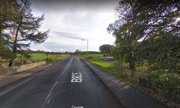 An image showing the B925 near Crosgates