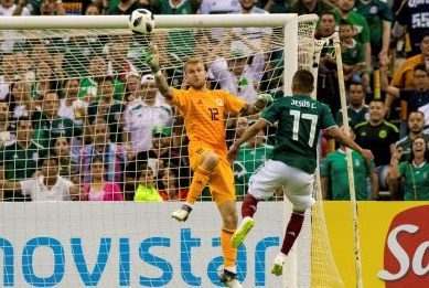 Scott Bain in action against Mexico.