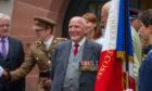 William Tavendale at the Balhousie Castle ceremony.