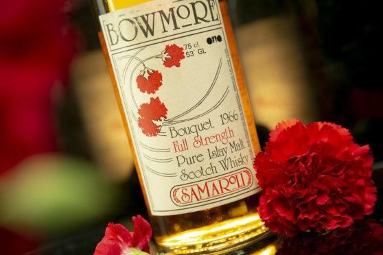 The Bowmore Bouquet.