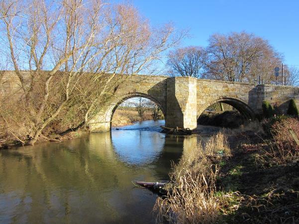 Dairsie Bridge, to the south of Dairsie near Cupar