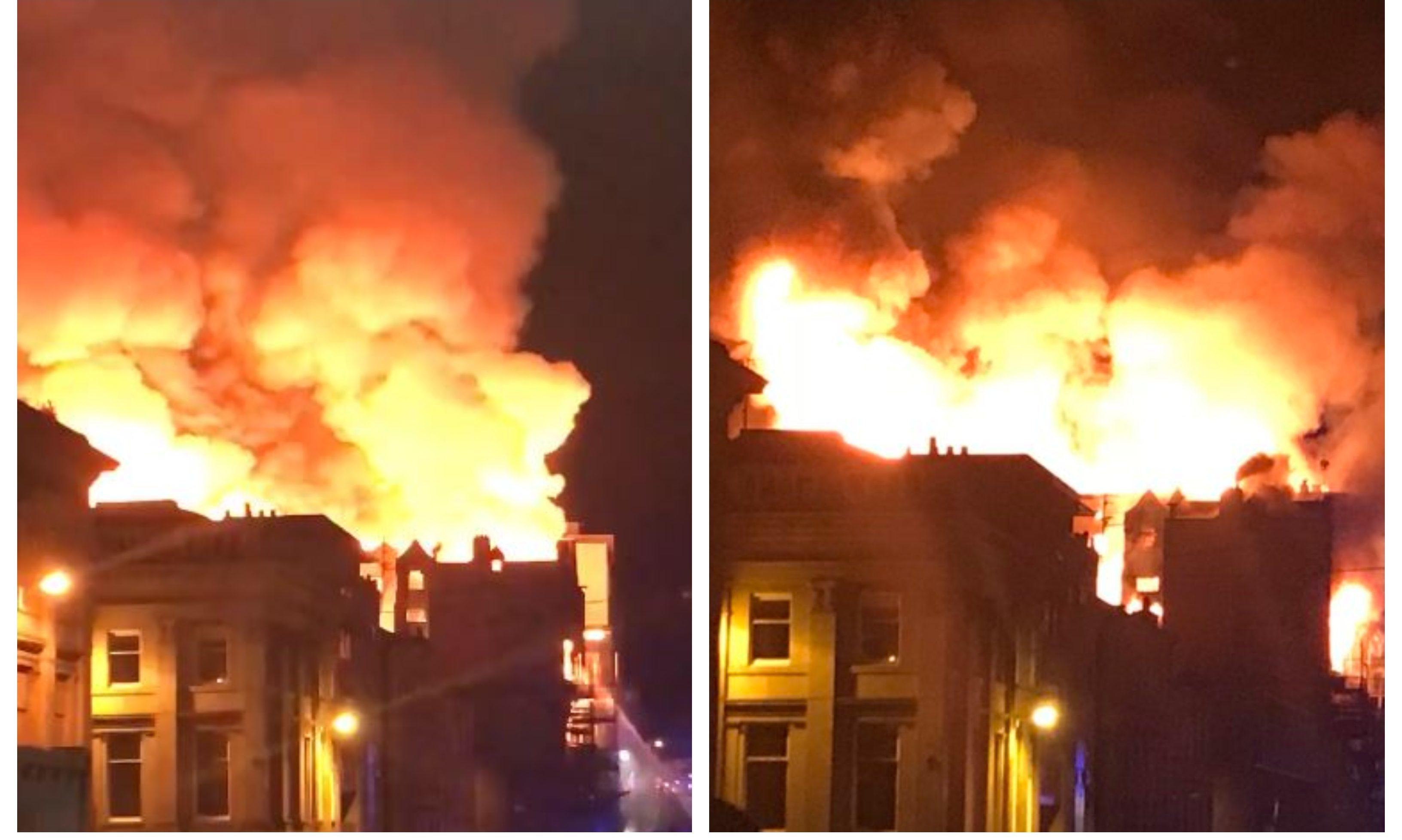 The Mackintosh building fire