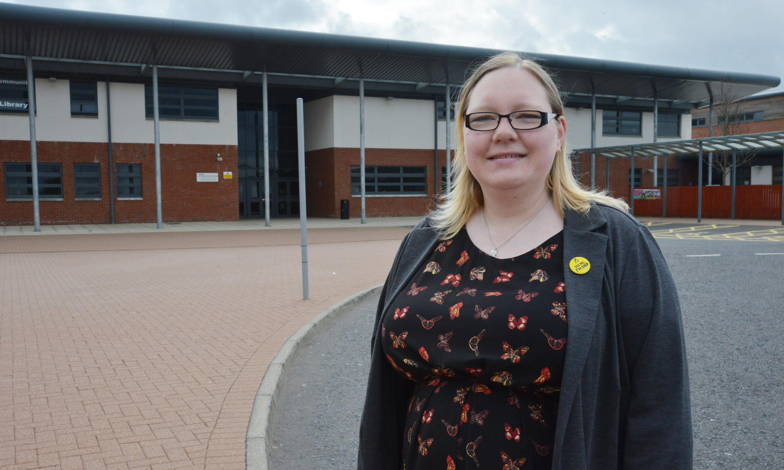 Councillor Fay Sinclair.