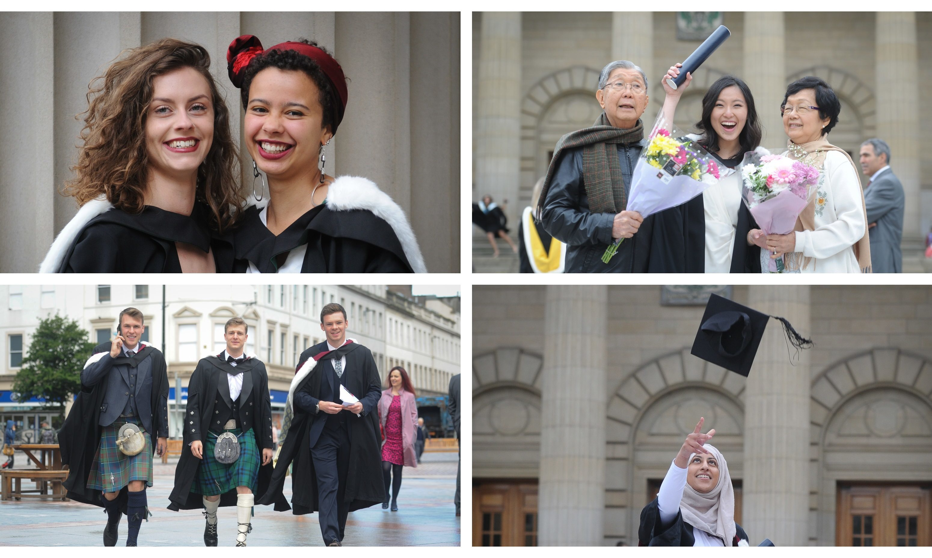 Wednesday saw the first Dundee University graduation ceremonies get under way.