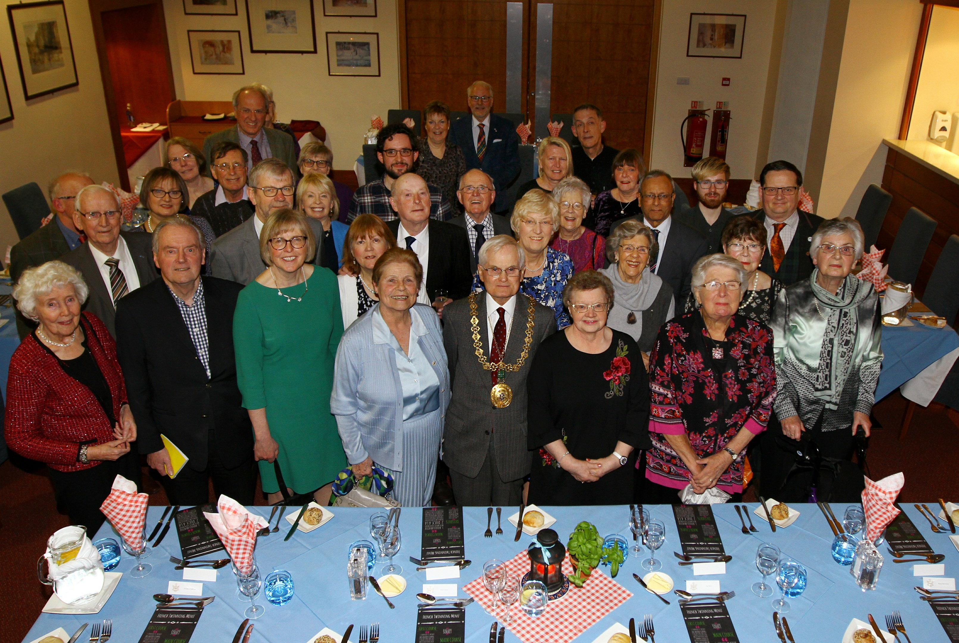 The Dundee-Orleans relationship was recently celebrated at Dundee & Angus College