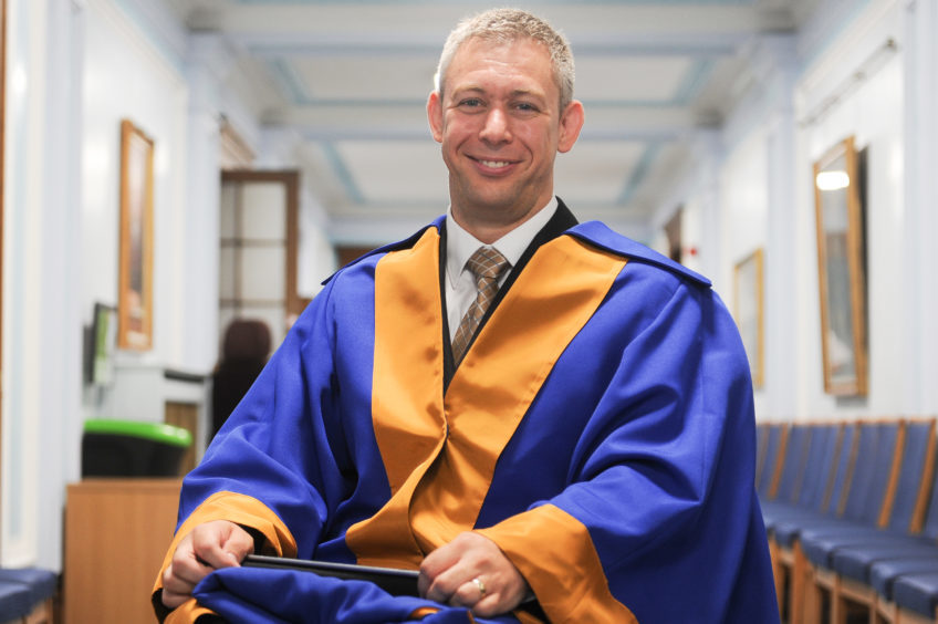 Honorary graduate, Martin Pistorius.