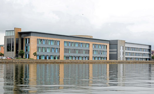 The SSSC building in Dundee.