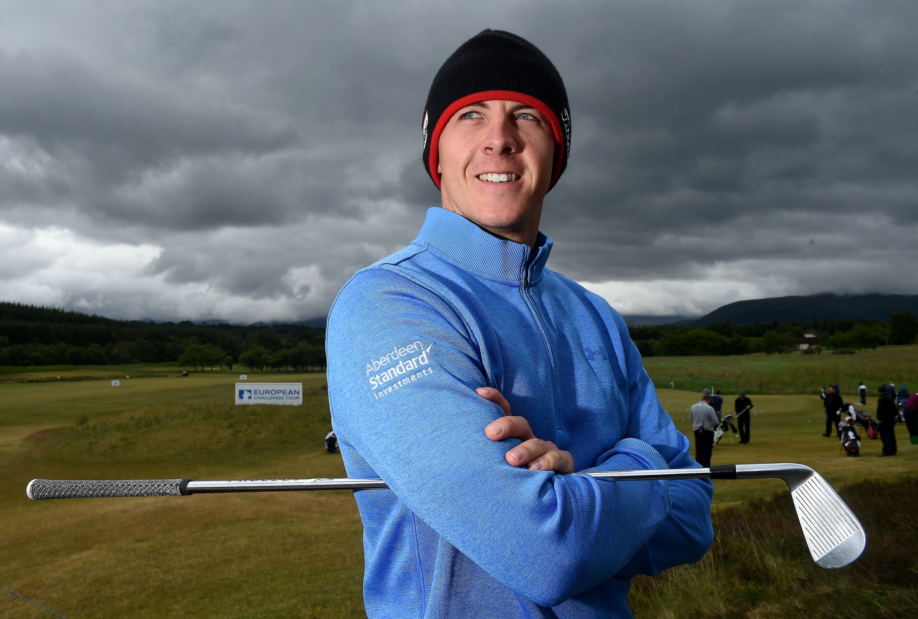 Grant Forrest is the leading Scottish player on the Challenge Tour rankings.