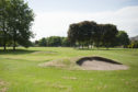 Forfar's deserted and flagless pitch and putt course