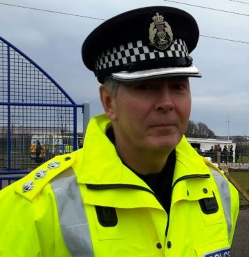 Chief Inspector Ian Scott.