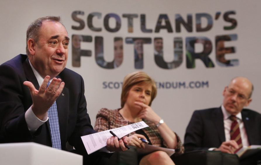 Alex Bell says three Ss – Salmond, Sturgeon and Swinney – have led the SNP for nearly 30 years and are out of ideas.