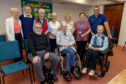 Some of the people who attended the latest support group meeting in Kirkcaldy.