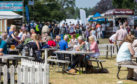 The sunshine has helped make the Game Fair one of the busiest yet.