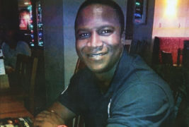 Sheku Bayoh who died while being arrested by Police Scotland in Kirkcaldy in 2015