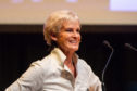 Judy Murray speaking at the Association of Scottish Businesswomen's annual conference.