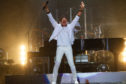 Lionel Richie wowing the crowd in Perth