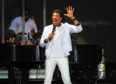 Lionel Ritchie preformed to a sold-out McDiarmid Park on Sunday.