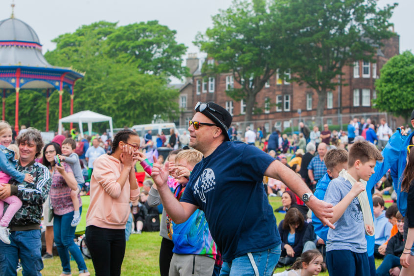 Revellers at last year's WestFest.