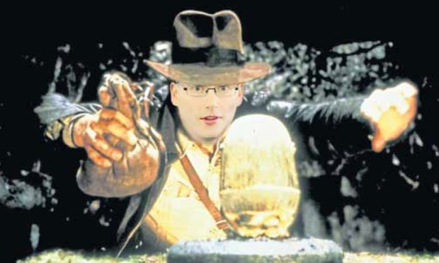 Graham Huband as Indiana Jones.